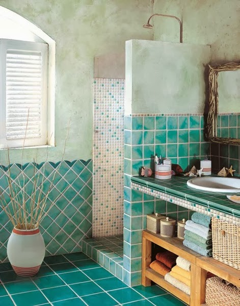 One life one love ,hippy !: inspiration boho bathroom