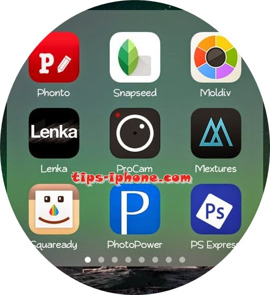 Aplikasi Paling Keren Edit Foto di iPhone