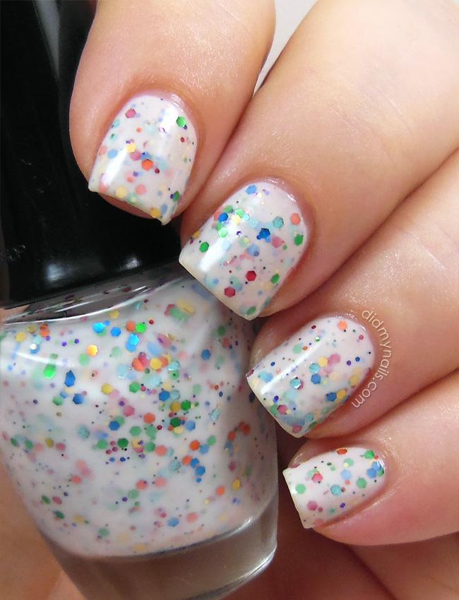 Did My Nails: The Face Shop Vanilla Sugar Yogurt