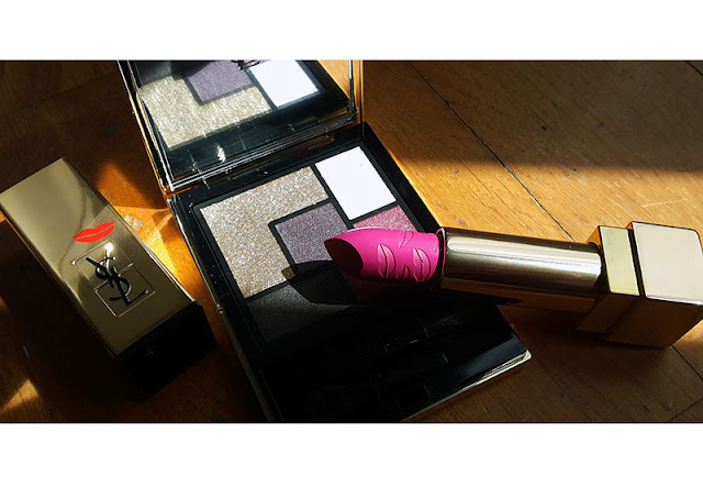 Fall Look 2015 Ysl Pretty Metal, Pretty Metal YSL, YSL, Yves Saint Laurent, metal clush palette, kiss and love rouge pur couture