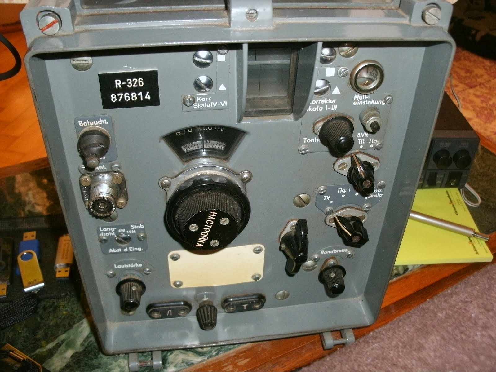 USSR-Surplus Radio R-326