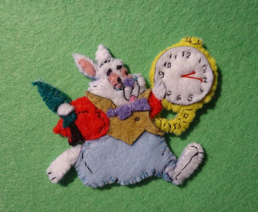 Fieltrorama conejo de alicia en el pa s de las maravillas - Conejo de alicia en el pais de las maravillas ...