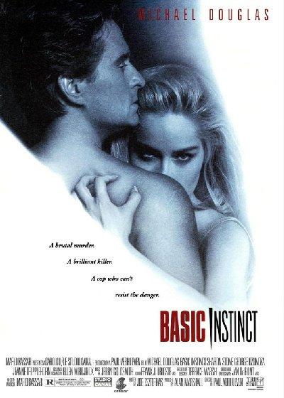 DVD cover Basic Instinct 1992 movieloversreview.blogspot.com