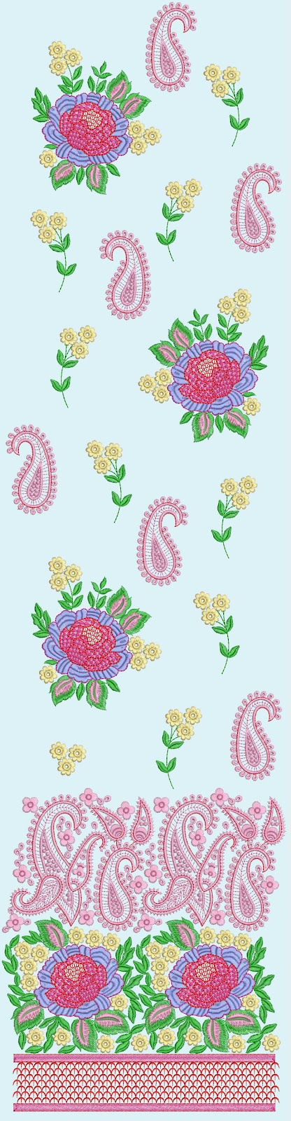 Embdesigntube Modern Patiala Suits Embroidery Designs