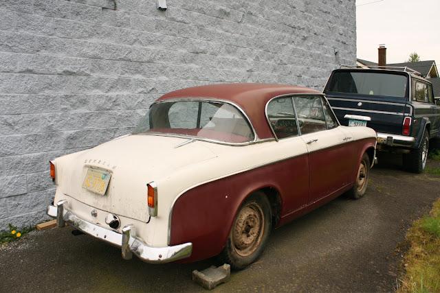 1956 Sunbeam Rapier coupe.