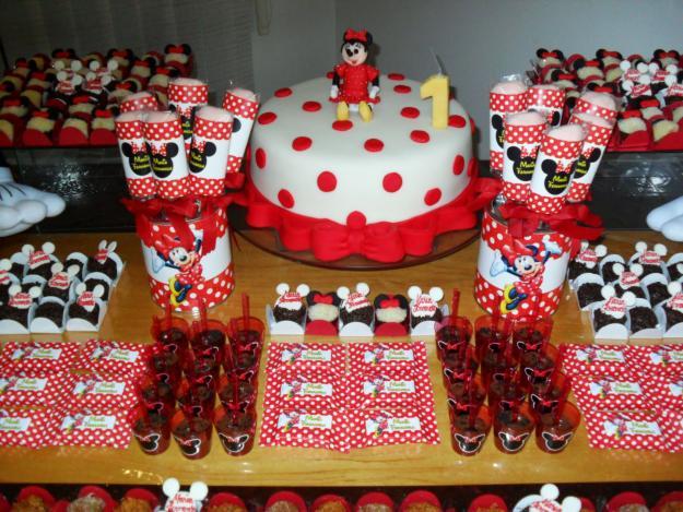 Temas para sua festinha Tema Minnie vermelha
