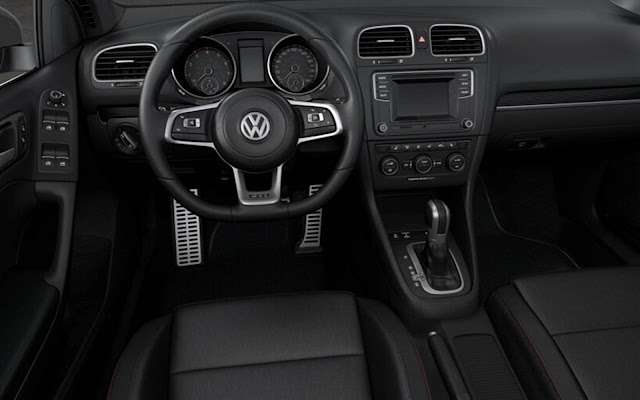VW Golf GTI Cabriolet 2016 - interior