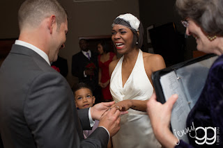 Ring Exchange at the Wedding Ceremony - Patricia Stimac, Seattle Wedding Officiant
