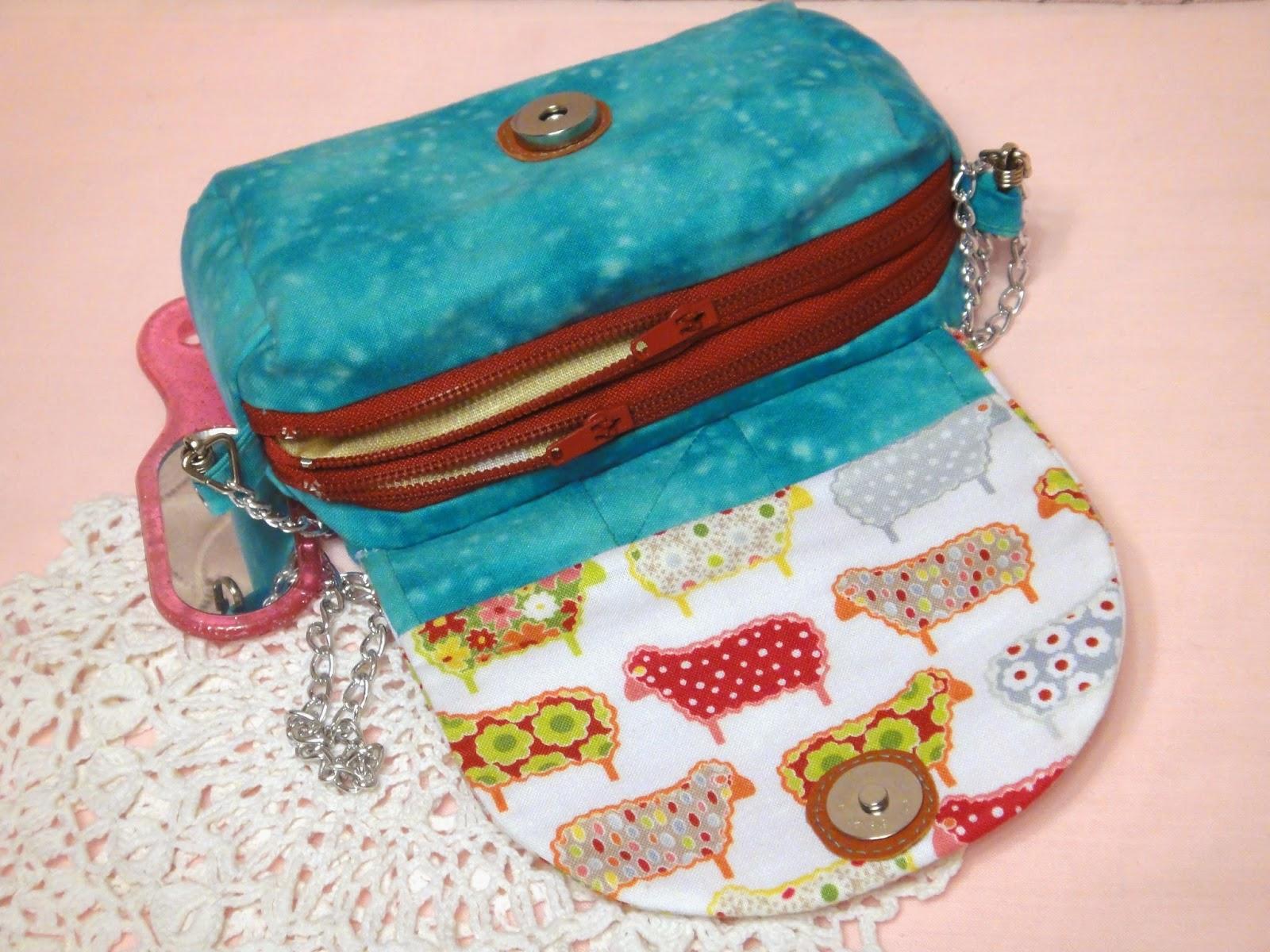 детская сумочка с двумя отделениями
