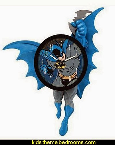 Batman Animated Wall Clock