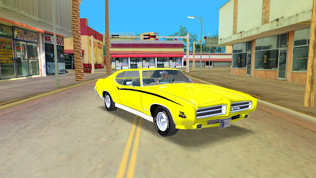 Pontiac GTO 1969 GTA Vice City