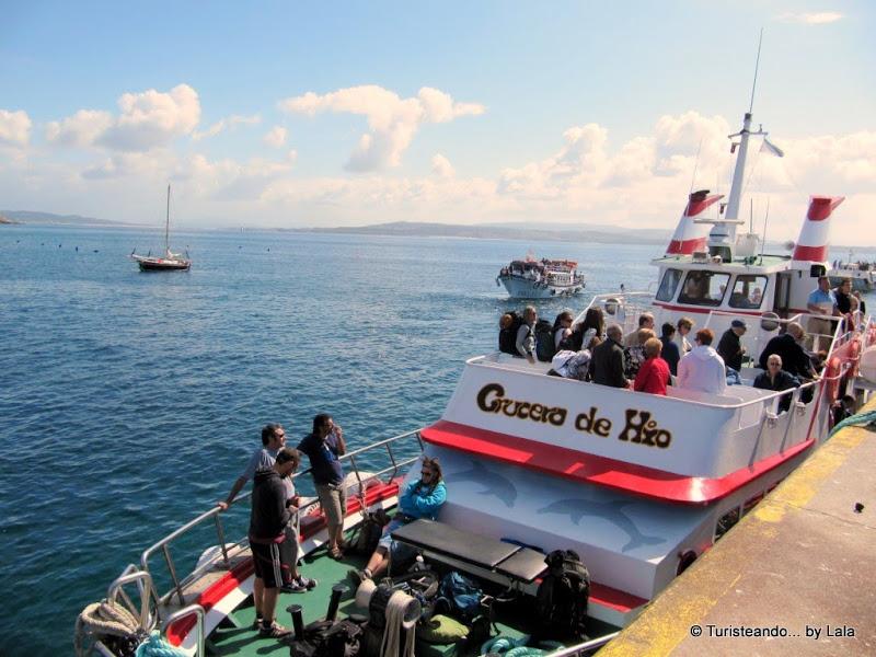 Barco Naviera Illa Ons