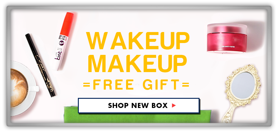 Memebox Special #37 Wake Up Makeup Box Includes Free Gift 미미박스 Commercial
