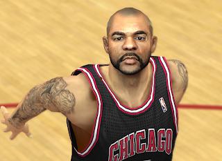 NBA 2K14 Carlos Boozer Cyberface Mod