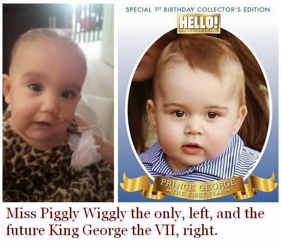 prince george, king of england, piggly wiggly, prince william, kate middleton,