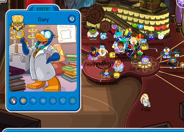 Gary en Club Penguin