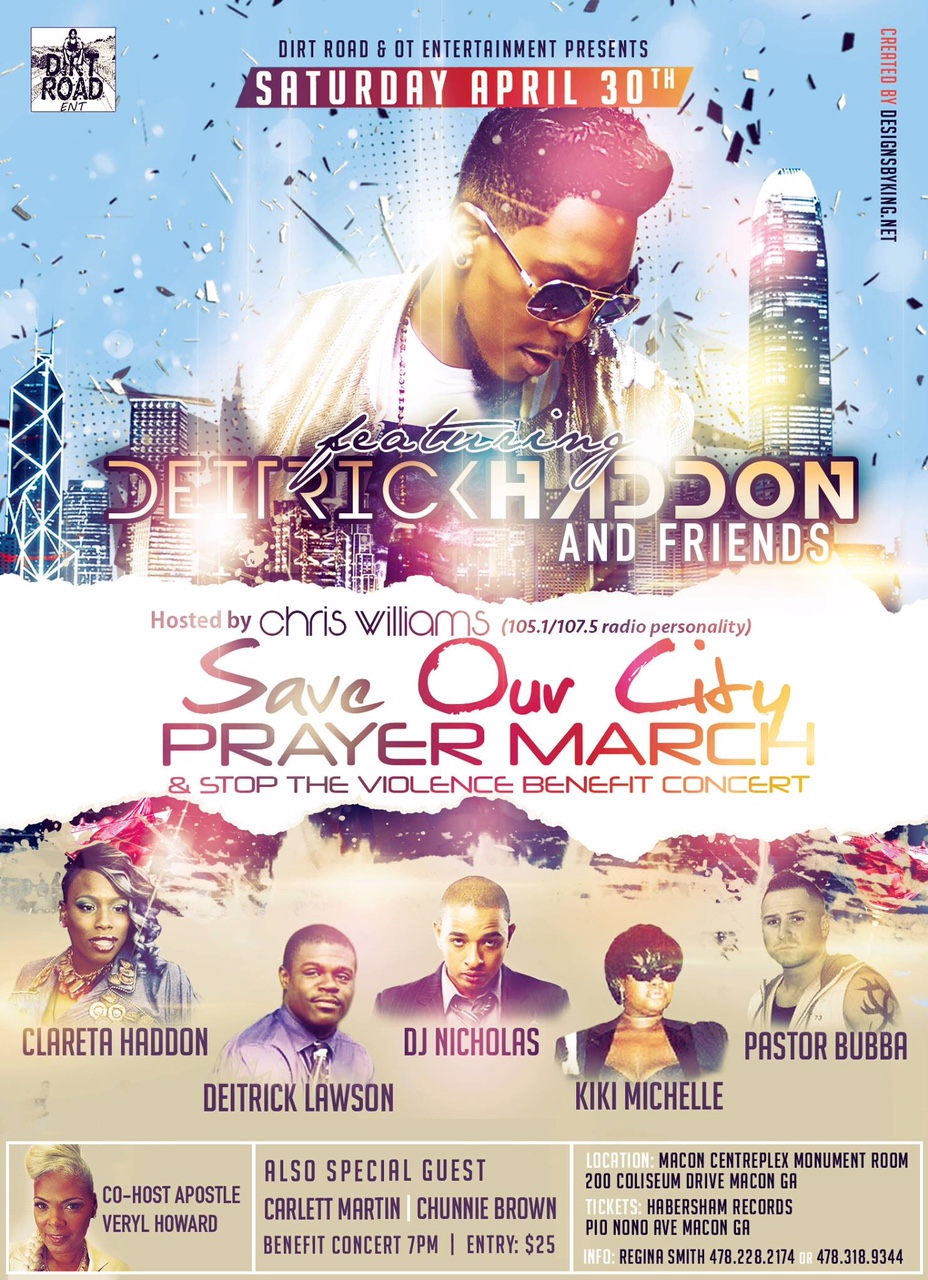 SAVE OUR CITY PRAYER MARCH