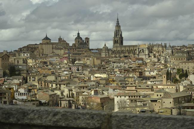 Toledo lluvia panoramica