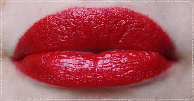 kryolan red lipstick