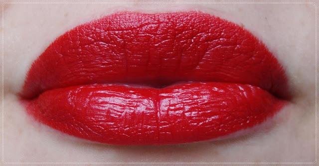 kryolan red lipstick