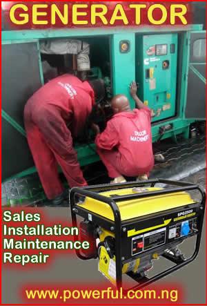 Generator Sales Nigeria