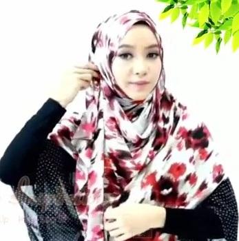 inspirasi hijab hari raya 2