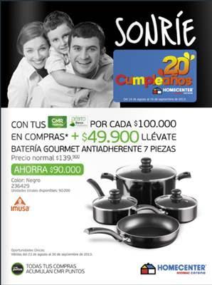 catalogo homecenter septiembre 2013