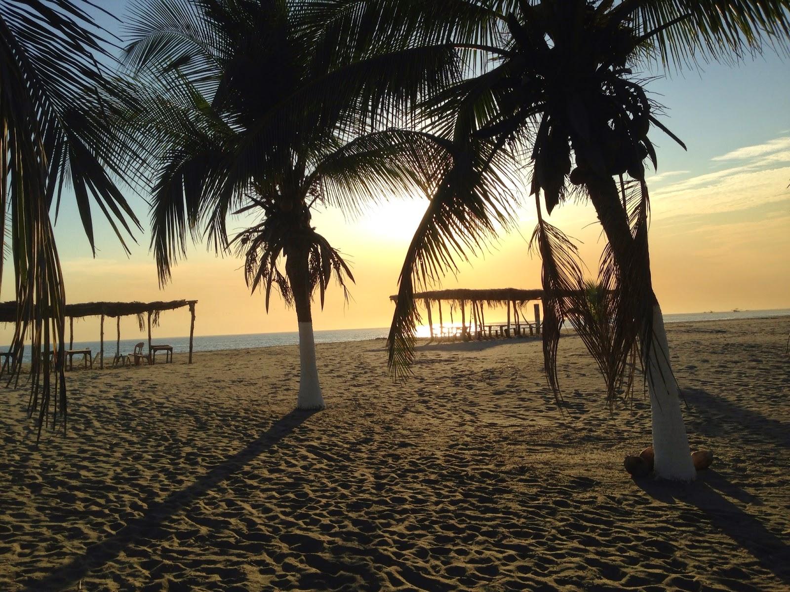 Vista de un atardecer en las playas de Boca del Cielo