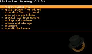 galaxy Y recovery