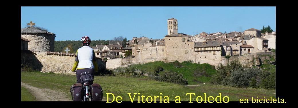 De Vitoria a Toledo en bicicleta