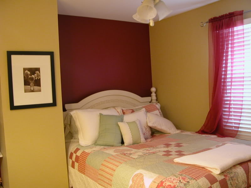 Builders tips interior paint colours choose the best for Bedroom ideas red and gold