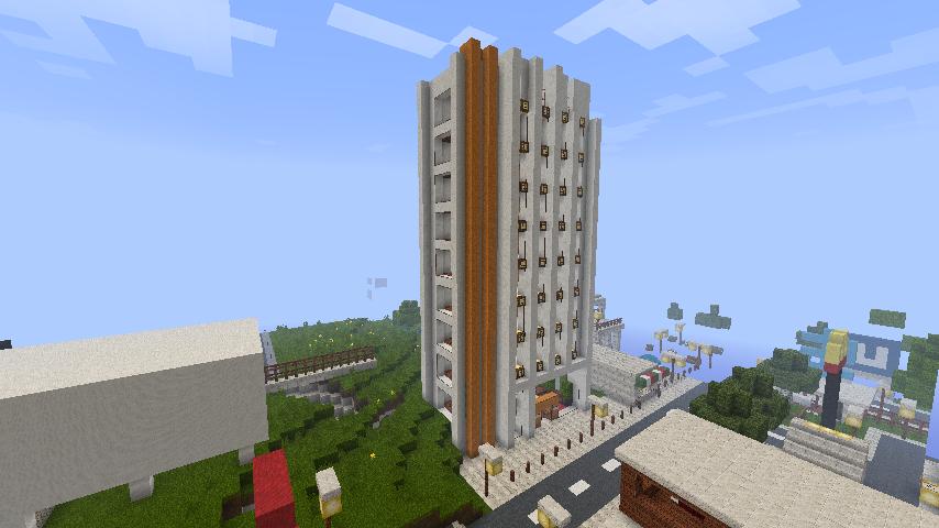 Minecraft stadt server - Minecraft hochhaus ...
