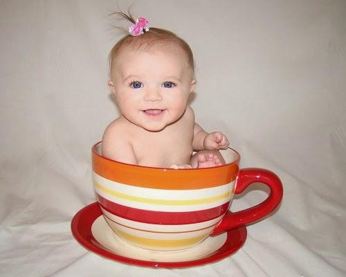 Une Photo bébé drôle trop mimi