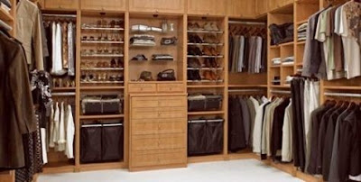 Dise os de closets o armarios para el dormitorio principal for Closets modernos para parejas
