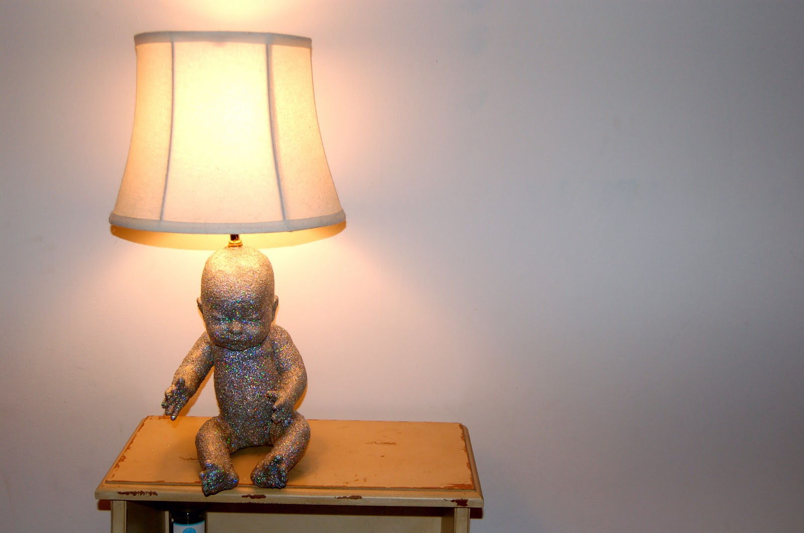 Then Pop The Plug Into An Outlet, Put In A Light Bulb, And Turn That Baby  On! (is That Too Literal?)