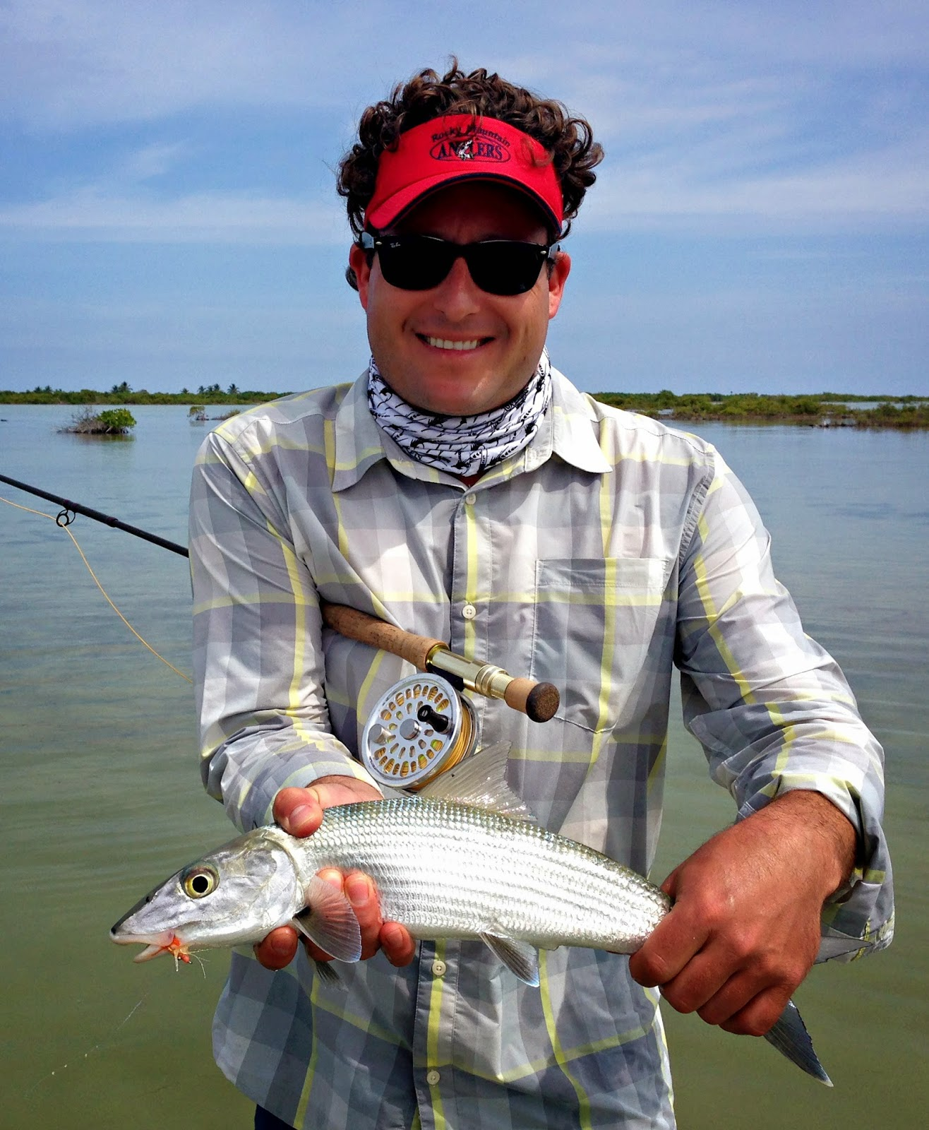 Life in motion fly fishing for bonefish cozumel flats for Fly fishing cozumel