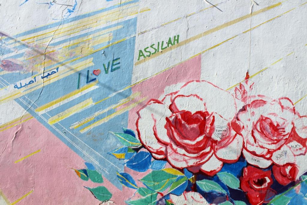 Street Art, Asila, Marroc - 1PDH