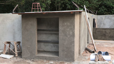 Shed for electric equipment