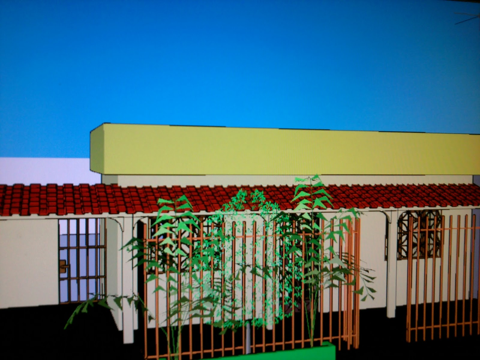 no Autocad 2010 Uma Casa 3D e agora Disponível para Download #0275C9 1600x1200 Baixar Banheiro Para Autocad