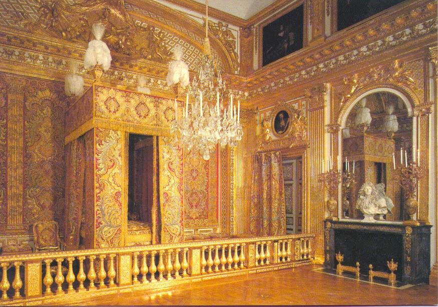Dormitorio Rey del Palacio de Versalles, Paris