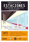 Teatro de la Huella presentó: Encuentro de Músicos solistas