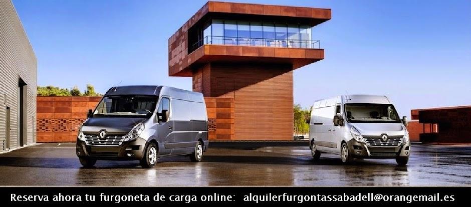 Alquiler Furgonetas Sabadell
