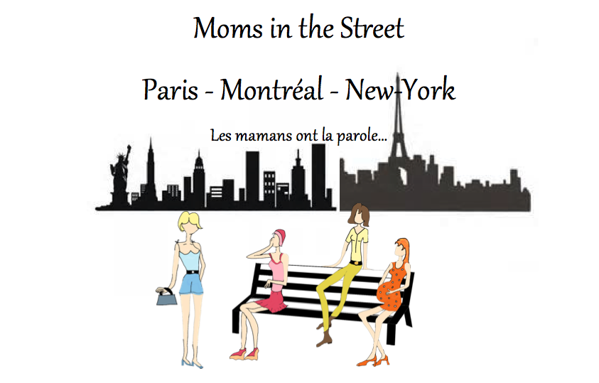 Moms in the street