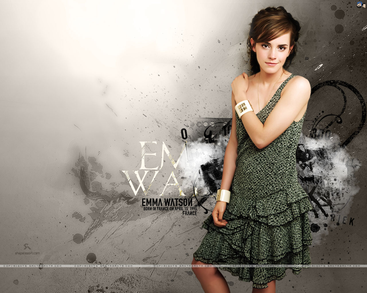 Wallpaper: Emma Watson Sexy Wallpapers
