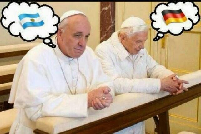 Se viene el duelo de Papas