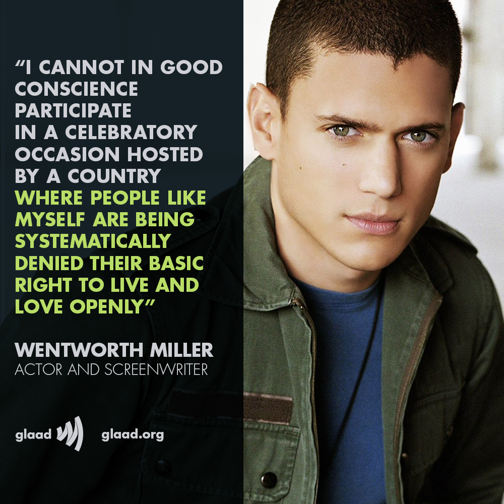 Joe. My. God.: Prison Break Star Wentworth Miller Comes ...