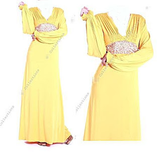 Modern_Dress_Bella14_Yellow_Mustard