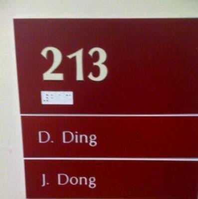 Llamando al despacho 213: ding dong