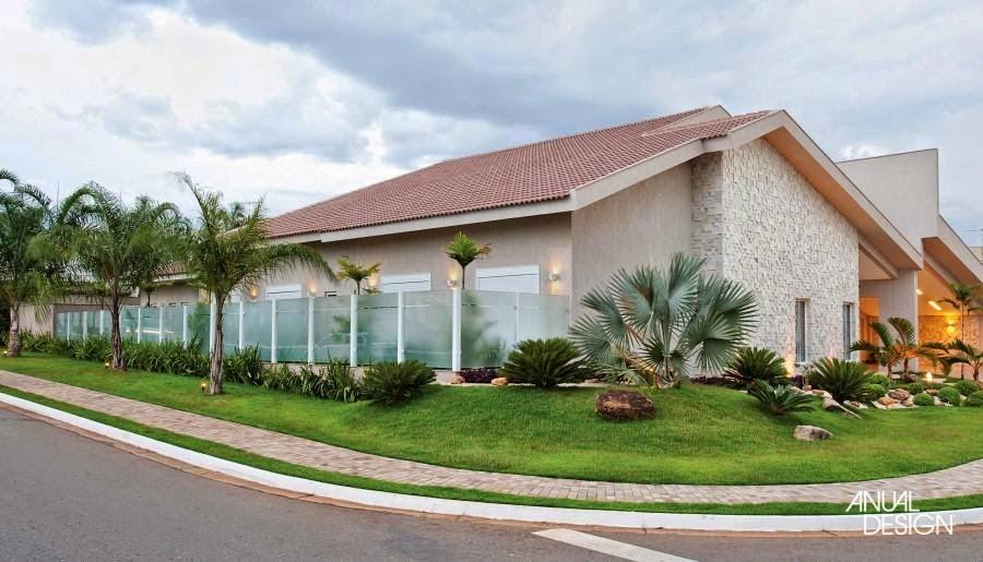 60 Modelos de muros residenciais - br.pinterest.com