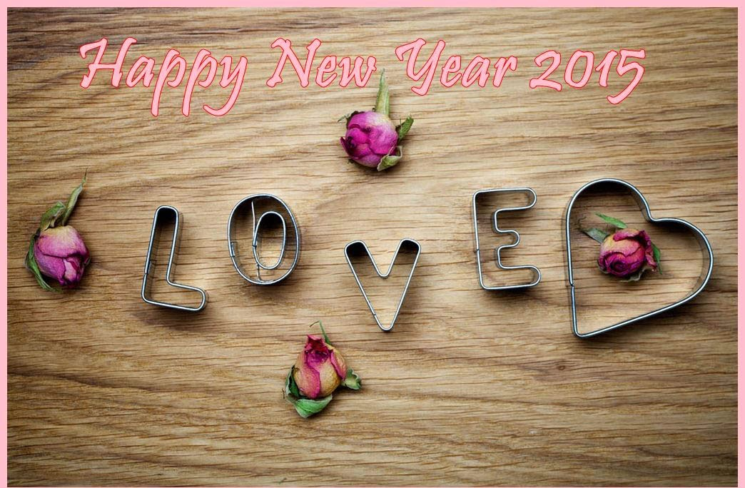 Greeting Happy New Year 2015 Photo Cards – Lovely Wishing Cards